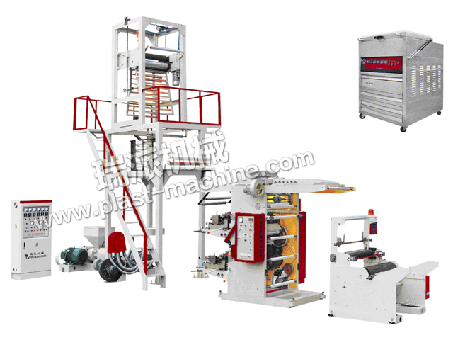 FILM EXTRUDER WITH FLEXO PRINTING UNIT