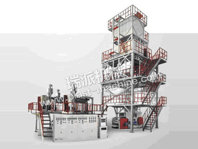 THREE TO FIVE LAYER POF SHRINK FILM EXTRUSION LINE