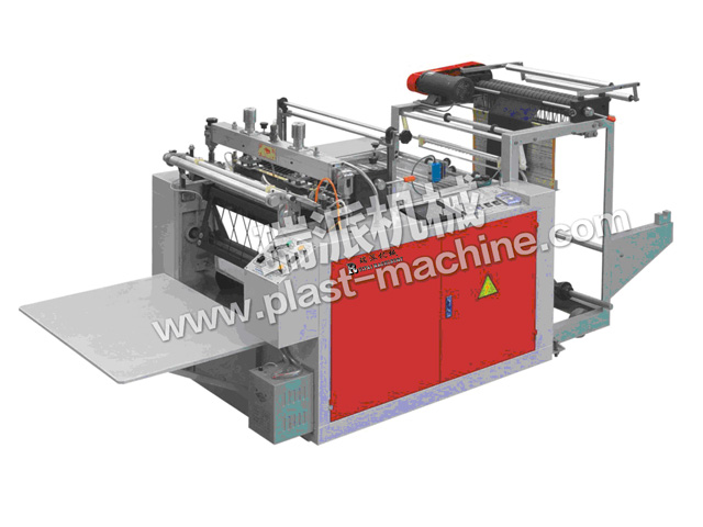 HEAT SEALING HEAT CUTTING BAG MAKING MACHINE