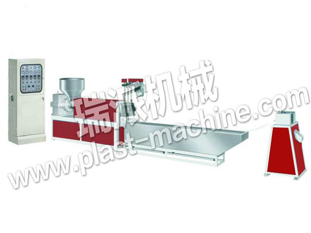 ONE STAGE PLASTIC PELLETIZING MACHINE